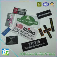 High Quality Woven Loop Fold Label