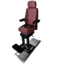 Adjustable captain chair with standard rail, customized pilot chair