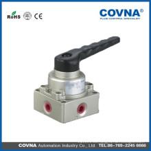 Válvula neumática de mano y de pie Válvula mecánica con precio