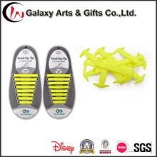 Плоский эластичный силиконовый без галстука шнурки дизайн для замка это супер легко чистить шнурки