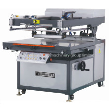 Tmp-90120-B Oblique Arm Flat Screen Printing Machine T-Shirt Textile Ce Screen Printer