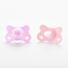 Logo printing silicone baby pacifier customized pacifier
