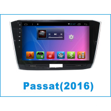 Reproductor de DVD del coche del sistema del androide para Passat con la navegación del GPS del coche / el DVD del coche