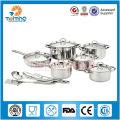 Набор из 7 предметов, помимо необходимой техники из нержавеющей стали наборы посуды