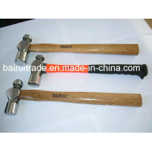 1lb Ball Pein Hammer with Wooden Fibre Glass Handle