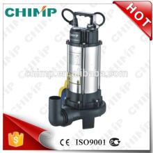 """SÉRIE V1300D 2 """"1.8HP DO CHIMP V com as bombas de água submergíveis da água de esgoto elétrica do impulsor do corte"""