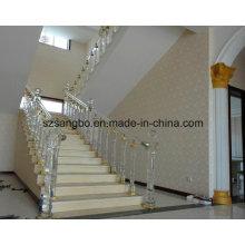 Barandilla/barandilla de cristal para la decoración casera