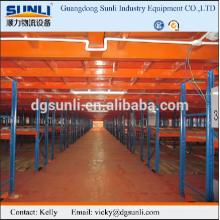 Stahl Lager Sektionaltore Plattform Regal
