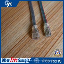 Macho de 4 pinos para cabo impermeável feminino