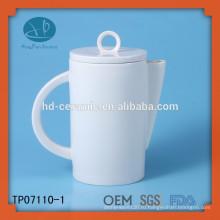 Экологически чистый поставщик керамического чайника, чайник для гостиниц, белый керамический чайник персонализированный