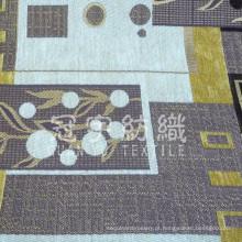 Decoração para casa Jacquard Chenille Poliéster e tecido acrílico