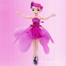 Educational Inductive Light Flying Girl Electric Toy