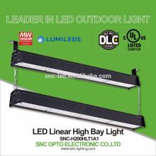 DLC Listed 200 Watt LED Aisle Lighter High Bay