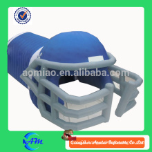 wholesale inflatable football helmet tunnel for advertising