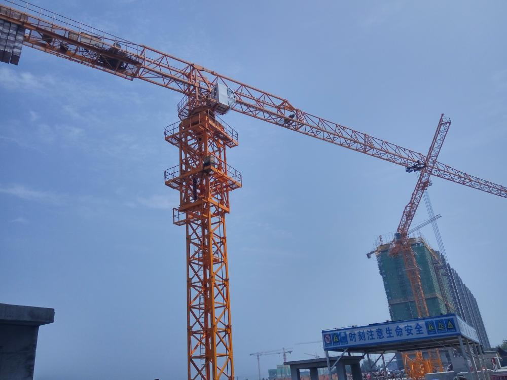 Building Topless Mini Electric Tower Crane
