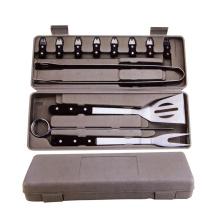 15pcs ferramentas para churrasco com caixa de plástico