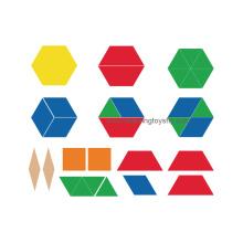Blocs de motifs en plastique pour l'apprentissage par fractionnement (K003)