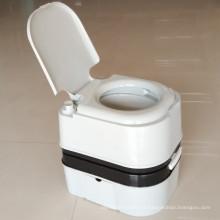 24L portátil higiénico móvil al aire libre de plástico