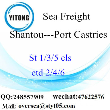 Port de Shantou LCL Consolidation vers Port Castries
