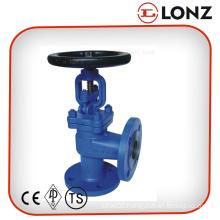 High Pressure Pn40 DIN Angle Globe Valve