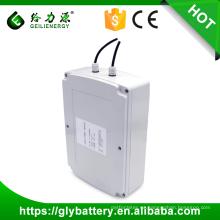 Personalización del cliente 12V 100 ah luz de calle solar batería de litio de almacenamiento solar