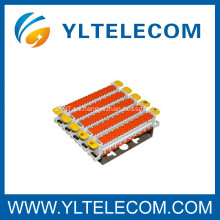 Bloque de 50 pares 2810 Módulo de conexión IDC 3M Sistema de conexión rápida Cat.5 QCS