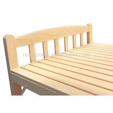 A cama individual da cama da madeira maciça do estilo de Pinus Sylvestris Malásia importada projeta a cama