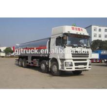 Camión tanque de combustible de la marca Shacman marca 8X4 para 18-35 metros cúbicos