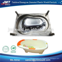 fabricante de alta calidad del molde de la tina del baño del bebé de la inyección de Taizhou