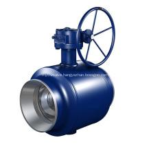 Fully Welded Trunnion Mounted Ball valve