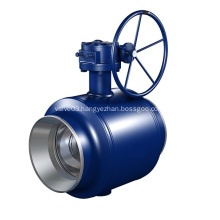 Fully Welded Trunnion Mounted Ball valve
