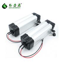 Capacidad de fábrica de la fábrica recargable 9ah e-bike batería 24 voltios batería de litio para e-bike