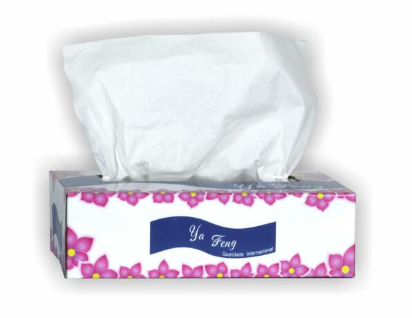 Facial Tissue with Paper box
