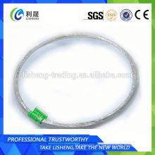 Cable de alambre de acero Galvanzied 7x19
