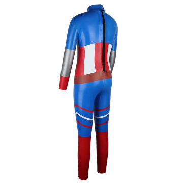 Traje de neopreno para niños Seaskin Smooth Skin Super Hero