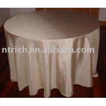 Taft schlichte Tischdecke, Hotel/Bankett Tisch decken, Tischwäsche