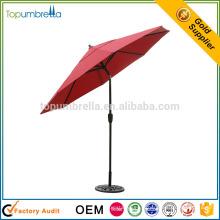 produits chinois de qualité maison et jardin patio parasol avec logo