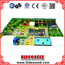 Jungle Theme Indoor Amusement Playground Solution with Bump Car