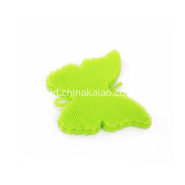 Silicone Kitchen Towel Dish Washing Rubber Scrubber