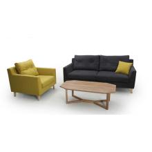 Tecido moderno 1 + 2 + 3 sofá sala