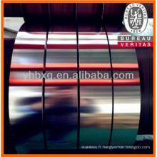 Bande en acier inoxydable 316L avec de bonne qualité (bobine de ss 316L)