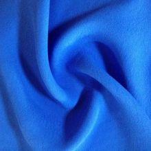 Синий цвет 100% вискоза женщин платье ткани