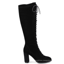 Thigh High Suede Boots Heels Wholesale Women Heels Boots Heels Sexy Shoes Women Ladies Long Boots