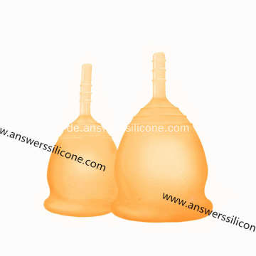 Medizinische weiche Silikon Menstruation Cup Lady Periode