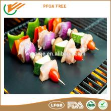 LFGB Centigrade custome size ptfe coated BBQ baking grill mat