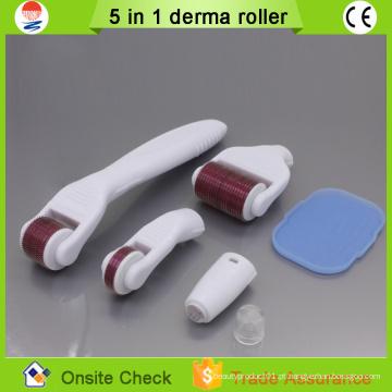 2015 máquina de beleza mágica Micro needling derma roller whitening agulhas de pele