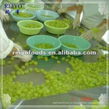 Консервированный виноград, очищенный в сиропе