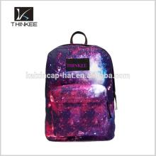 Fashion custom bacpack/best selling factory backpack/ color print backpack bag