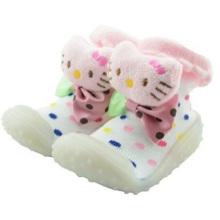 Chaussettes de chaussettes personnalisées pour bébés et chaussettes en caoutchouc