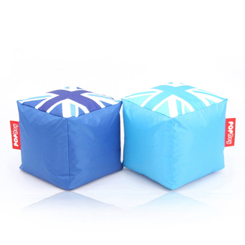 Nice Portable Square Mini Bean Bag Stool 4